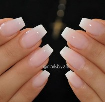 wedding photo - 36 Amazing French Manicure Designs - Cute French Nail Art 2017