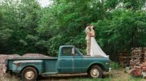wedding photo - Rustic Farm Wedding In Crozet