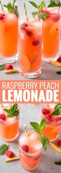 wedding photo - Raspberry Peach Lemonade