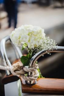 wedding photo - Luxury Cannes Yacht Wedding Inspiration Shoot - French Wedding Style