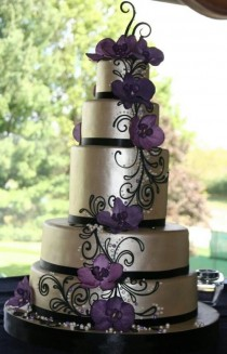 wedding photo - Hochzeitskuchen