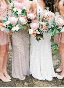wedding photo - Natalie Und Noah, Entzückende Bohemian-Hochzeit Von Lauren Peele