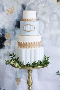 wedding photo - Modern French-Inspired Wedding Ideas