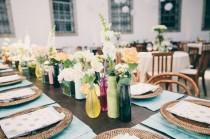 wedding photo - Los 6 detalles que no deben faltar en las mesas del banquete