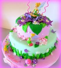 wedding photo - Tinkerbell Cake