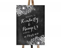 wedding photo - Printable Chalkboard Wedding Welcome Sign