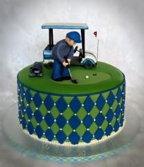wedding photo - Golf Cake — Birthday Cakes