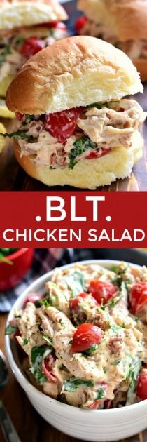 wedding photo - BLT Chicken Salad