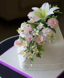 wedding photo - Bouquet Of Spring Flowers — Flowers
