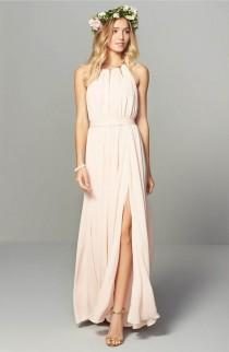 wedding photo - Chiffon Gown