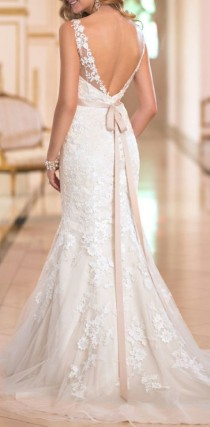 wedding photo - Backless Wedding Dress By Stella York