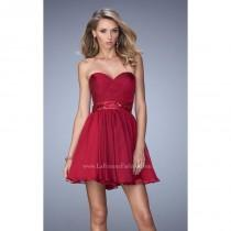 wedding photo - Cranberry La Femme Short Cocktail 22015 La Femme Short Dresses - Rich Your Wedding Day