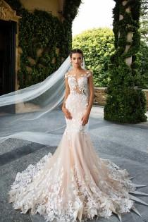 wedding photo - 43 Mermaid Wedding Dresses With Sleeves That Suite Every Theme