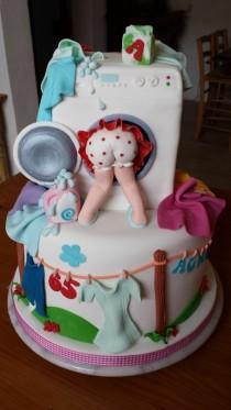 wedding photo - Laundry Cake — Birthday Cakes