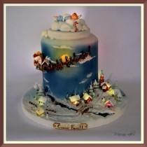 wedding photo - Christmas CAKE