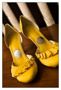 wedding photo - Yellow Wedding Shoes