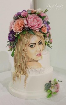 wedding photo - Cakes & Cake Decorating ~ Daily Inspiration & Ideas