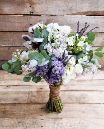 wedding photo - Hand Tied Bridal Bouquet Inspiration