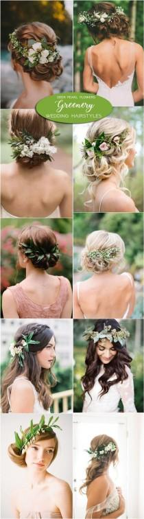 wedding photo - 2017 Wedding Trends: 100 Greenery Wedding Decor Ideas