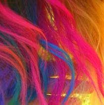 wedding photo - Liquid Hair Chalk - Temporary Hair Color
