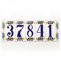 wedding photo - Modern house number, Address plaques, House numbers, House number tiles, Custom house numbers, House number plaques, Address signs 5 digits