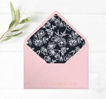 wedding photo - Envelope Liners for DIY Wedding Invitations