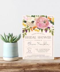 wedding photo - Bridal Shower Invite - Wedding Shower Invite - Sweet Blooms - Bridal Tea - Bridal Brunch - Wedding Shower - Bridal Shower Brunch Invite