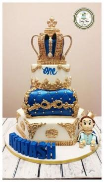 wedding photo - Kids Birthday Cakes - For Boys - Spring Bloom Cakes