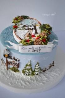 wedding photo - Christmas Cake