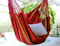 wedding photo - Sweet Cherry - Fine Cotton Hammock Chair, Made in Brazil
