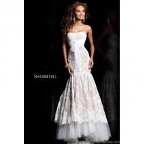wedding photo - Sherri Hill 21010 Lace Mermaid Prom Dress - Crazy Sale Bridal Dresses