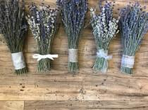 wedding photo - Beautiful & Fragrant Lavender Bouquets