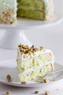 wedding photo - Coconut And Pistachio Pudding Cake