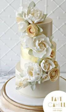 wedding photo - Faye Cahill Cake Design Wedding Cake Inspiration