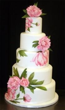 wedding photo - When I Say I Do...: Gorgeous Spring Wedding Cakes