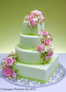 wedding photo - Wedding Cakes, Green. Indian Wedding Magazine