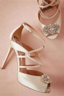 wedding photo - BHLDN - Gemmo Heels