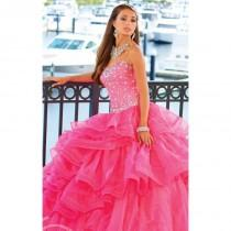 wedding photo - Beaded Sweetheart by Quinceanera Collection 26758 - Bonny Evening Dresses Online