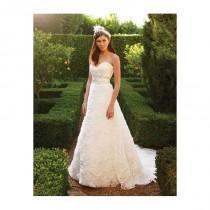 wedding photo - Casablanca Bridal 2048 Rosette Wedding Dress - Crazy Sale Bridal Dresses