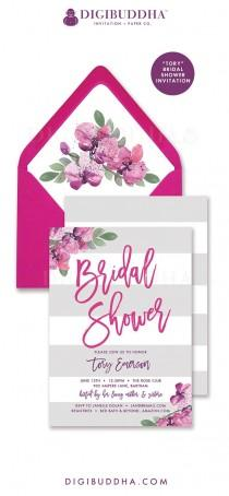 wedding photo - Digibuddha Bridal Shower Invitations