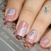 wedding photo - Enchanted - DP01 Nail Stamping Plate