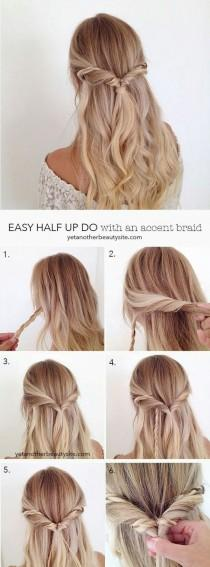 wedding photo - 16 Boho Prom Hairstyle Tutorials For A More Relaxed Look