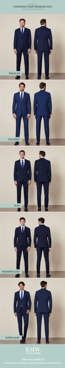 wedding photo - Choosing Your Wedding Suit
