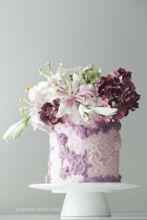 wedding photo - #9 Wedding Cake Inspired By Enchanted Garden