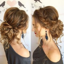 wedding photo - 25 Chic Braided Updos For Medium Length Hair
