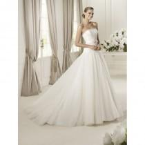 wedding photo - Pronovias, Dulce - Superbes robes de mariée pas cher