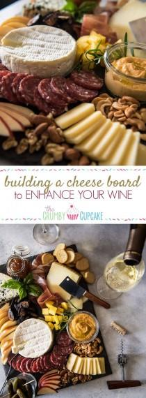 wedding photo - How To Build A Cheese Board To Enhance Your Wine