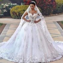 wedding photo - WEDDING DRESS UP IVORY & WHITE (2)