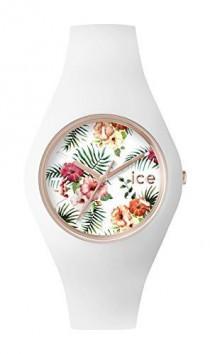 wedding photo - ICE-Watch - ICE.FL.COL.U.S.15 - Ice Flower - Colonial - Montre Femme - Quartz Analogique - Cadran Noir - Bracelet Silicone Noir: Amazon.fr: Montres