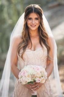 wedding photo - Classic Mauve And Gold Arizona Wedding